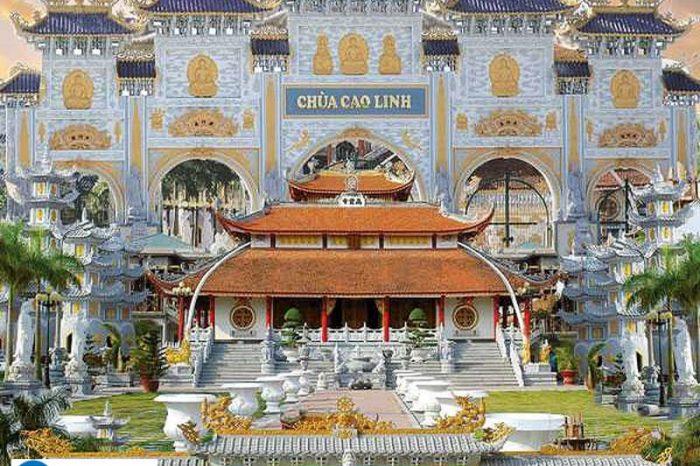 Hà Nội – Chùa Cao Linh- Bạch Đằng Giang – Chùa Hang – Đền Bà Đế Hải phòng 1 ngày