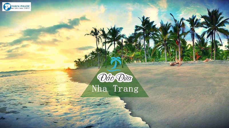 """Điểm du lịch """" Đảo Dừa"""" tại Nha Trang"""