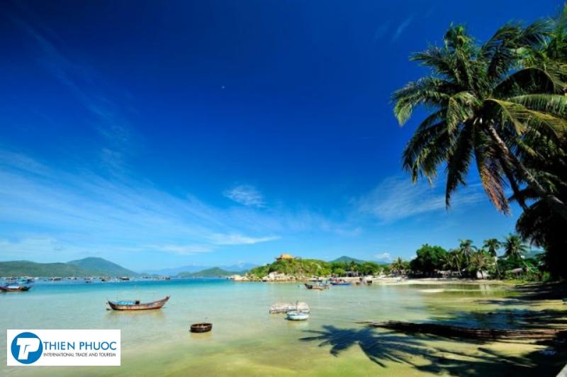 Các biển, đảo gần thành phố Nha Trang