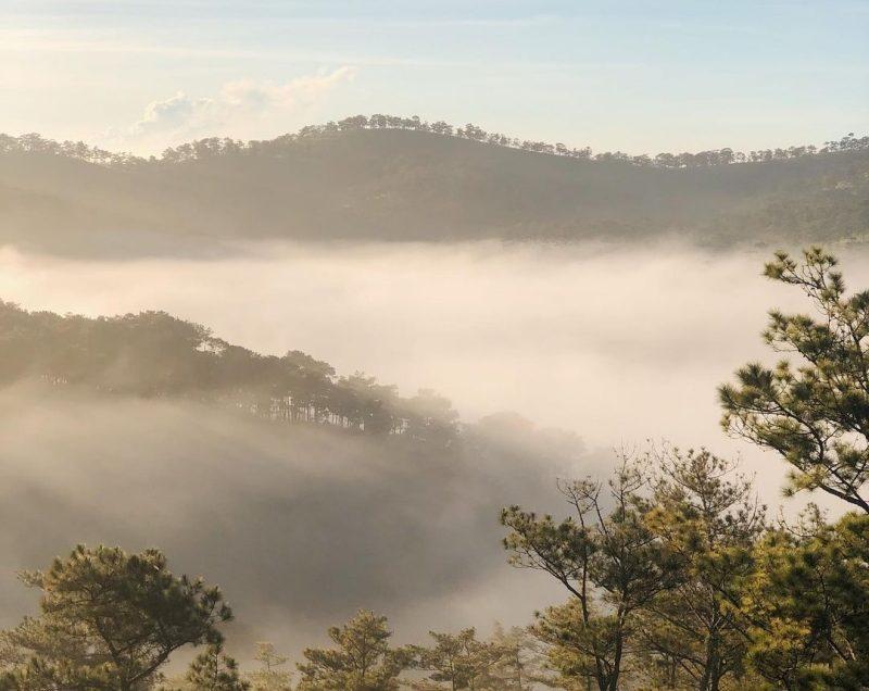 Trải nghiệm chuyến đi săn mây đồi Đa Phú khi du lịch Đà Lạt